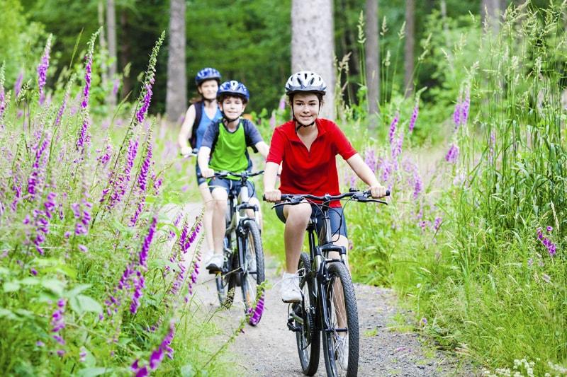 Family activity - biking