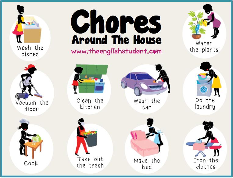 Various household tasks
