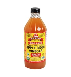 Apple cider vinegar for irritated skin on legs