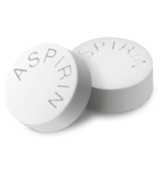Aspirin for itchy skin on legs