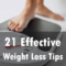 21 effective weight loss tips