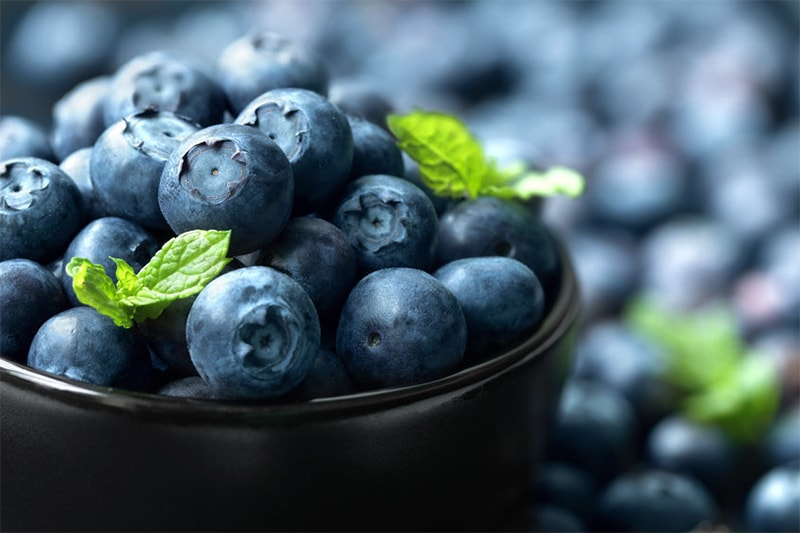 Blueberries are anti-inflammatory food